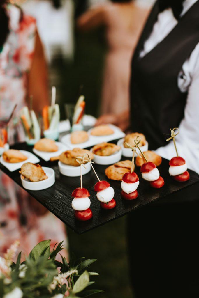 Italian finger food -Hotel Caruso Wedding - Italian Wedding Designer