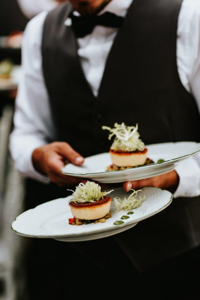Italian Antipasti -Hotel Caruso Wedding - Italian Wedding Designer