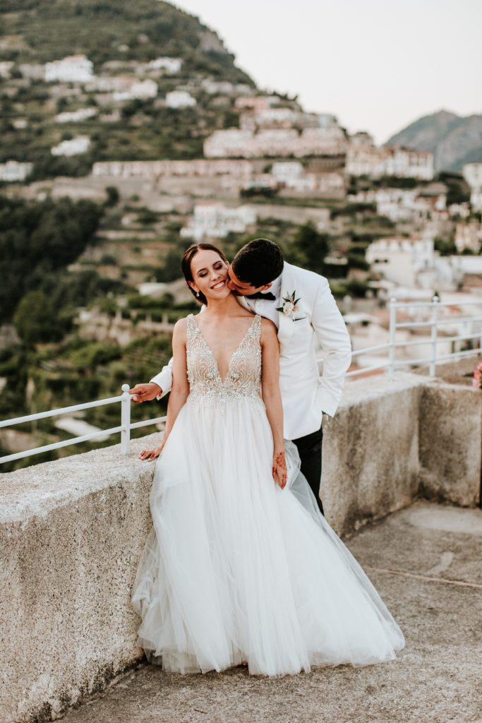 Couple Photo - Hotel Caruso Wedding - Italian Wedding Designer