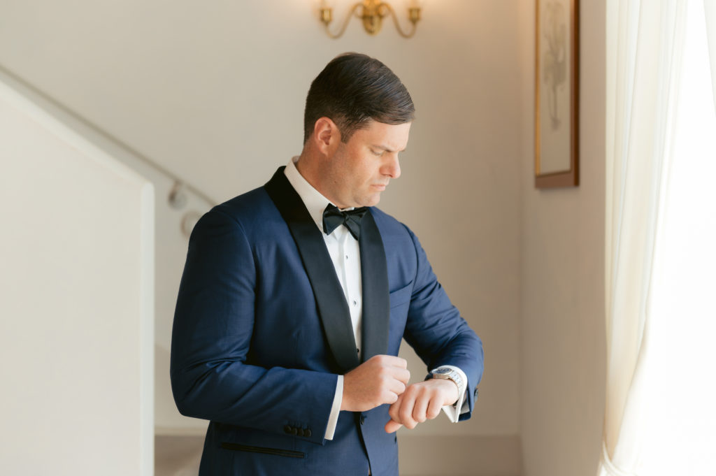 Groom getting ready - Destination Wedding in Ravello - Italian Wedding Designer