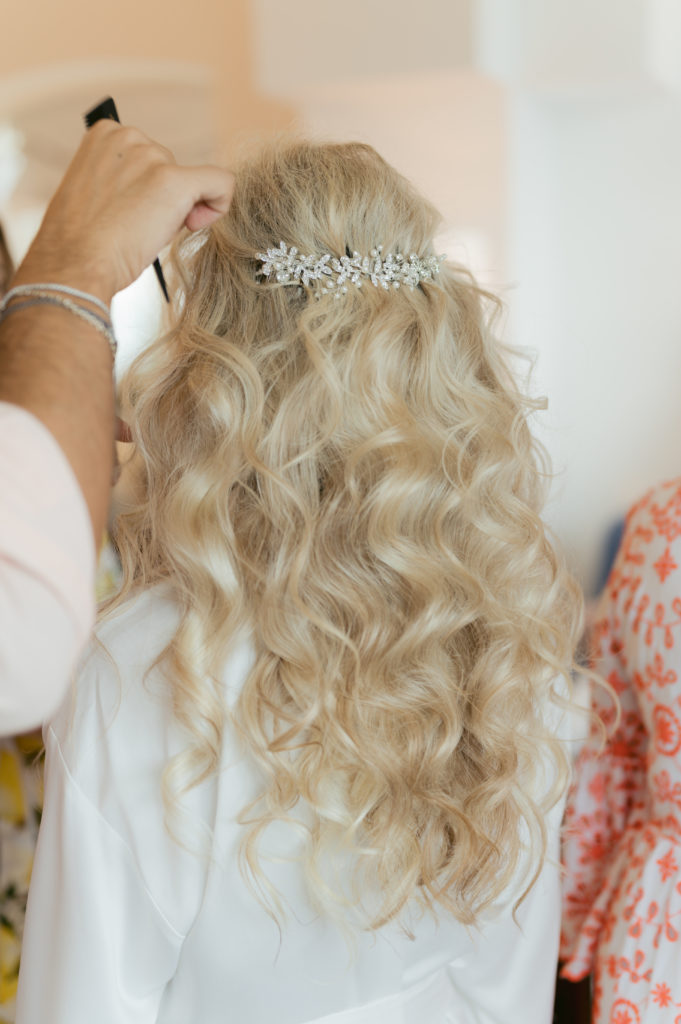 Hairstyle by Alessandro Mancino - Destination Wedding in Ravello - Italian Wedding Designer