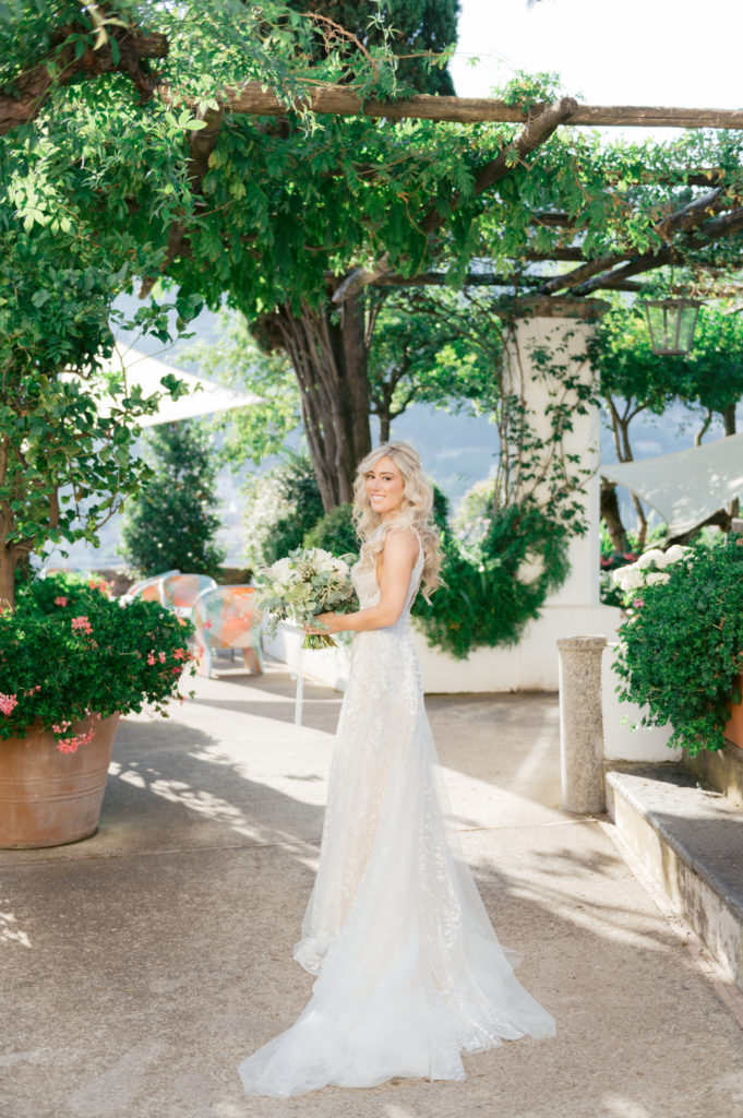 Bride portrait by Bottega 53 - Destination Wedding in Ravello - Italian Wedding Designer