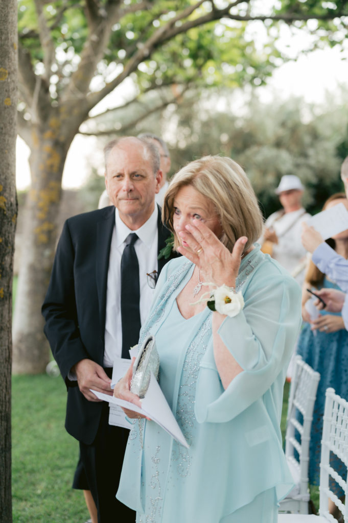 Parents during ceremony - Destination Wedding in Ravello - Italian Wedding Designer