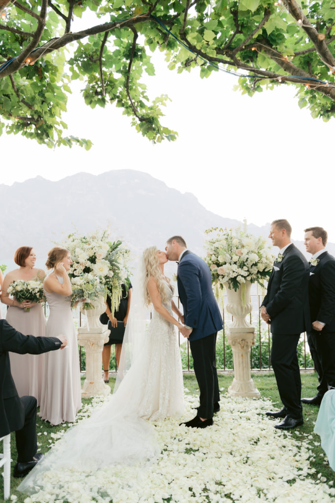 you may kiss the bride - Destination Wedding in Ravello - Italian Wedding Designer