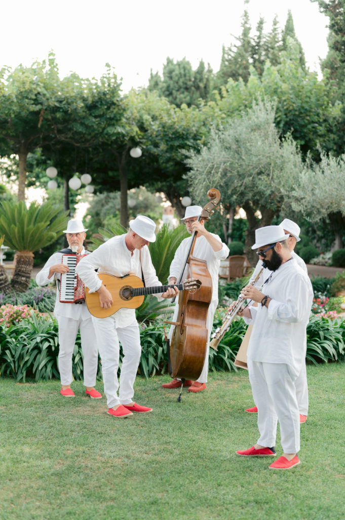 Music during aperitif - Destination Wedding in Ravello - Italian Wedding Designer