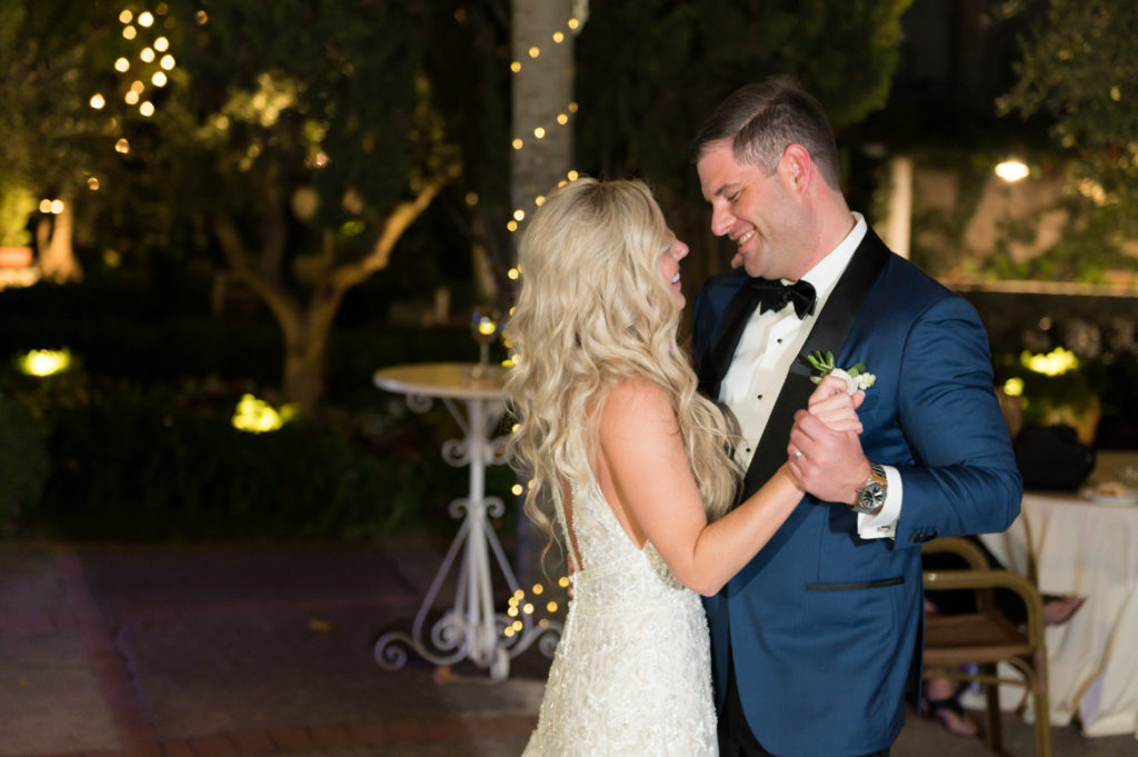 First dance at Villa Eva - Destination Wedding in Ravello - Italian Wedding Designer
