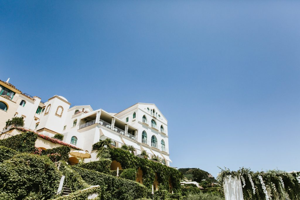 Hotel Caruso Ravello - Hindu wedding at Hotel Caruso in Ravello - Italian Wedding Designer