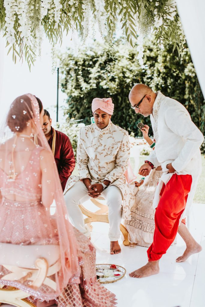 Hindu Ceremony - Hindu wedding at Hotel Caruso in Ravello - Italian Wedding Designer