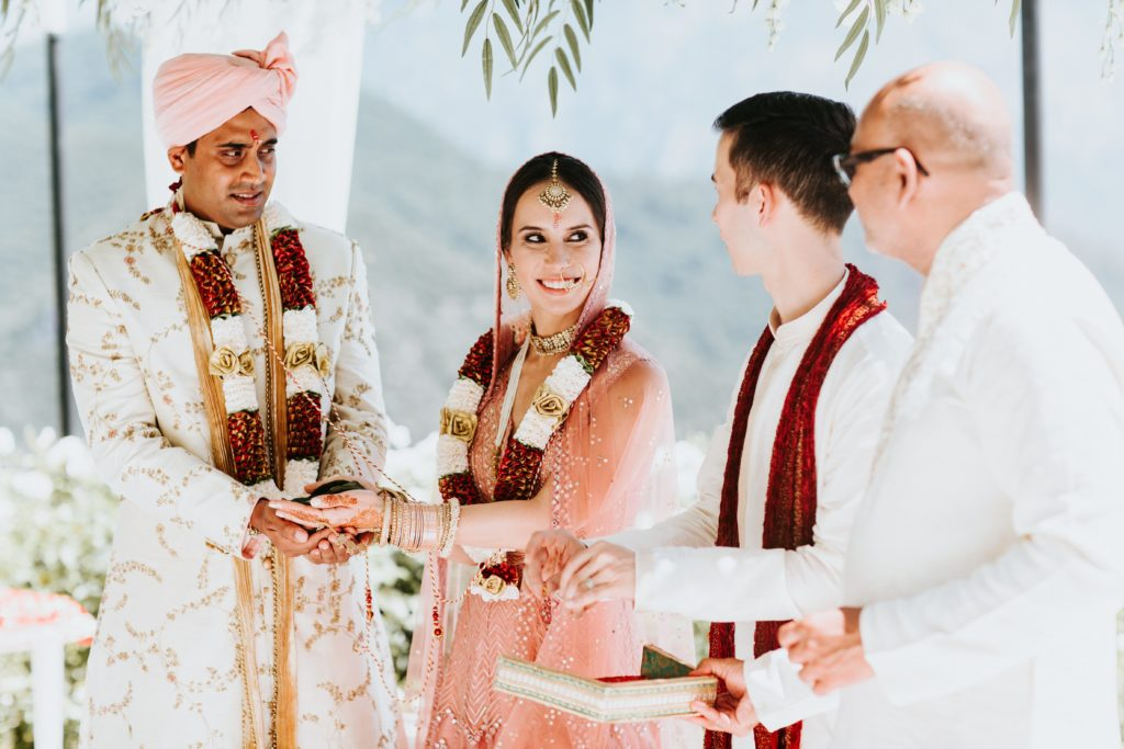 Hindu Ceremony in Ravello - Hindu wedding at Hotel Caruso in Ravello - Italian Wedding Designer