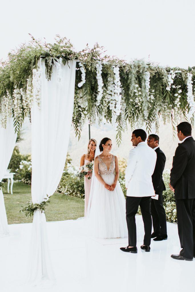 Ceremony - Hotel Caruso Wedding - Italian Wedding Designer