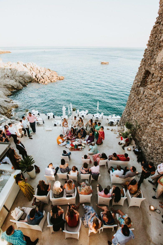 Ganesh Puja Wedding Ceremony - Italian Wedding Designer - Torre Normanna