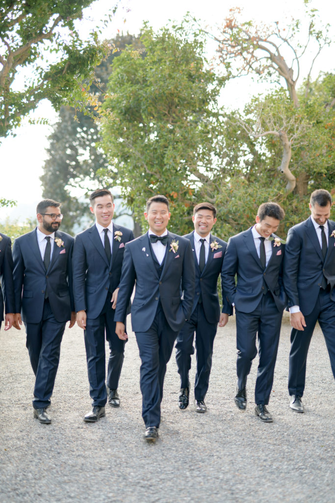 Groomsmen at Villa Pizzo Stunning wedding at Villa Pizzo - Italian Wedding Designer