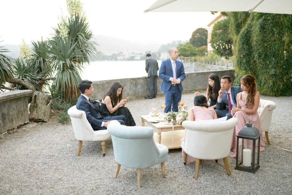 Villa Pizzo Aperitivo Stunning wedding at Villa Pizzo - Italian Wedding Designer