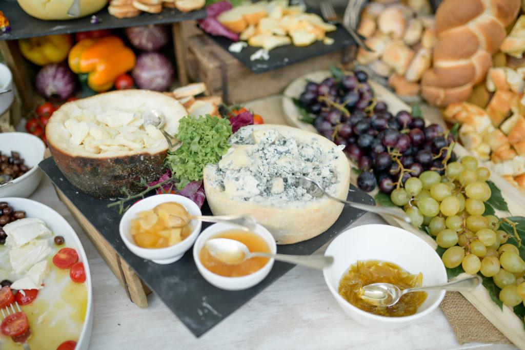 Cheeses Corner Stunning wedding at Villa Pizzo - Italian Wedding Designer