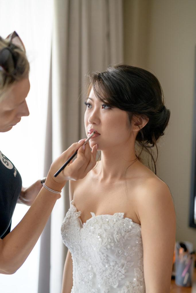 Samantha Pretto Make up artist - -Stunning Wedding at Villa Pizzo - Italian Wedding Designer