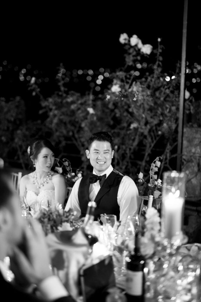 Speech moment at Villa Pizzo Stunning wedding at Villa Pizzo - Italian Wedding Designer