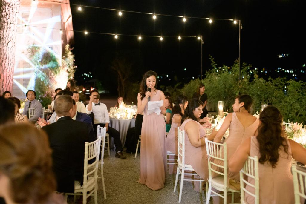 Speeches on the lakeshore Stunning wedding at Villa Pizzo - Italian Wedding Designer