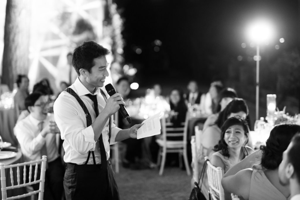 Speeches on Como Lake Stunning wedding at Villa Pizzo - Italian Wedding Designer