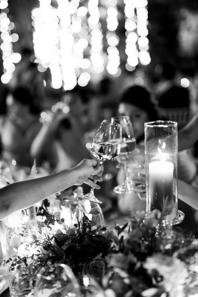 Cheers at Villa Pizzo Stunning wedding at Villa Pizzo - Italian Wedding Designer