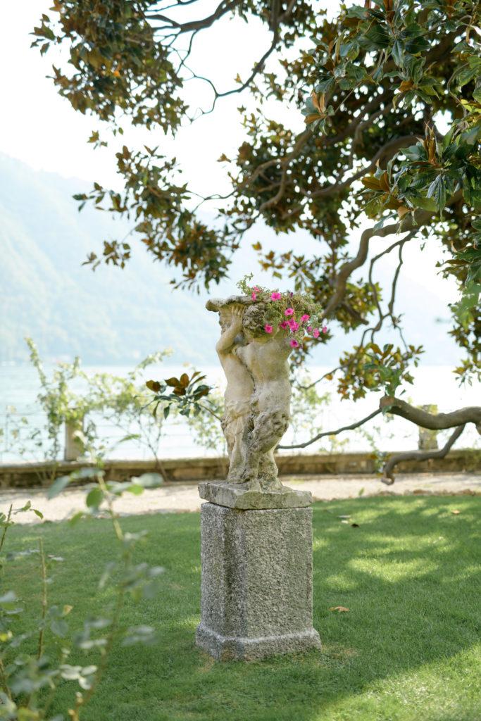 Villa Pizzo garden -Stunning Wedding at Villa Pizzo - Italian Wedding Designer