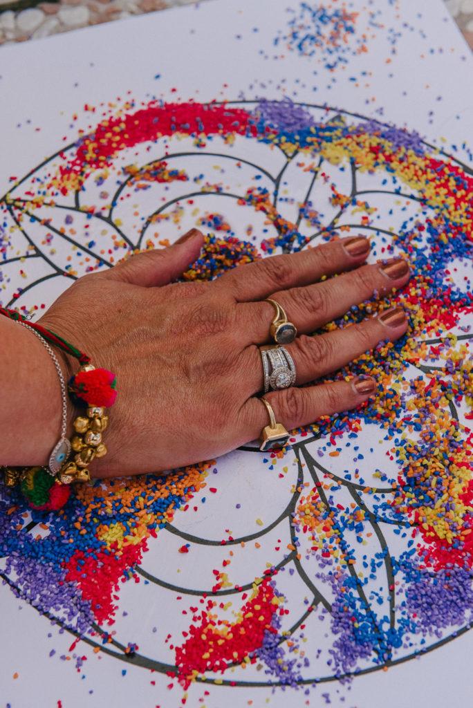 Colors of Haldi Ceremony - Indian Wedding in Tuscany - Italian Wedding Designer