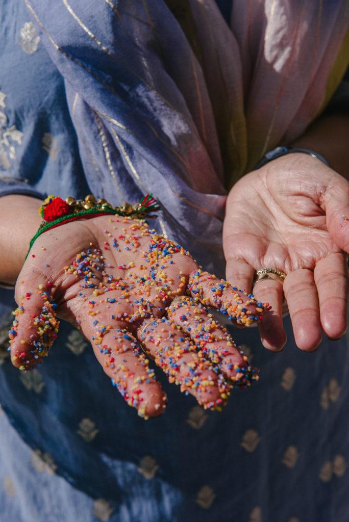 Haldi Ceremony colors - Indian Wedding in Tuscany - Italian Wedding Designer