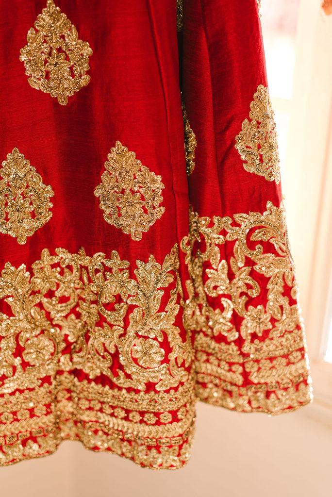 Sari details - Indian Wedding in Tuscany - Italian Wedding Designer