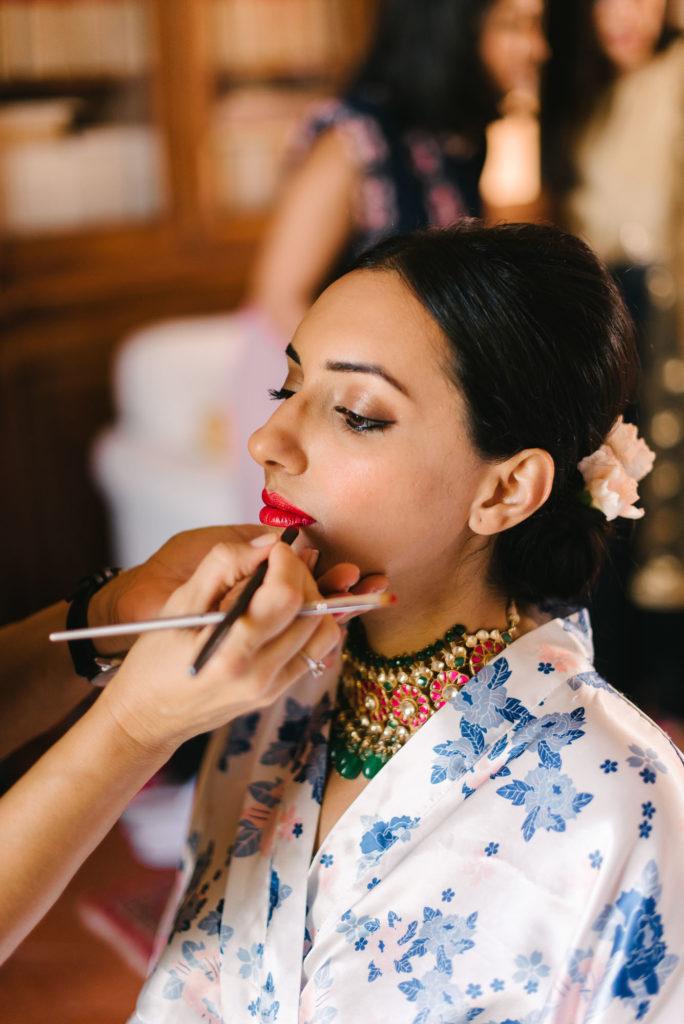 Lara Navarrini MUA - Indian Wedding in Tuscany - Italian Wedding Designer