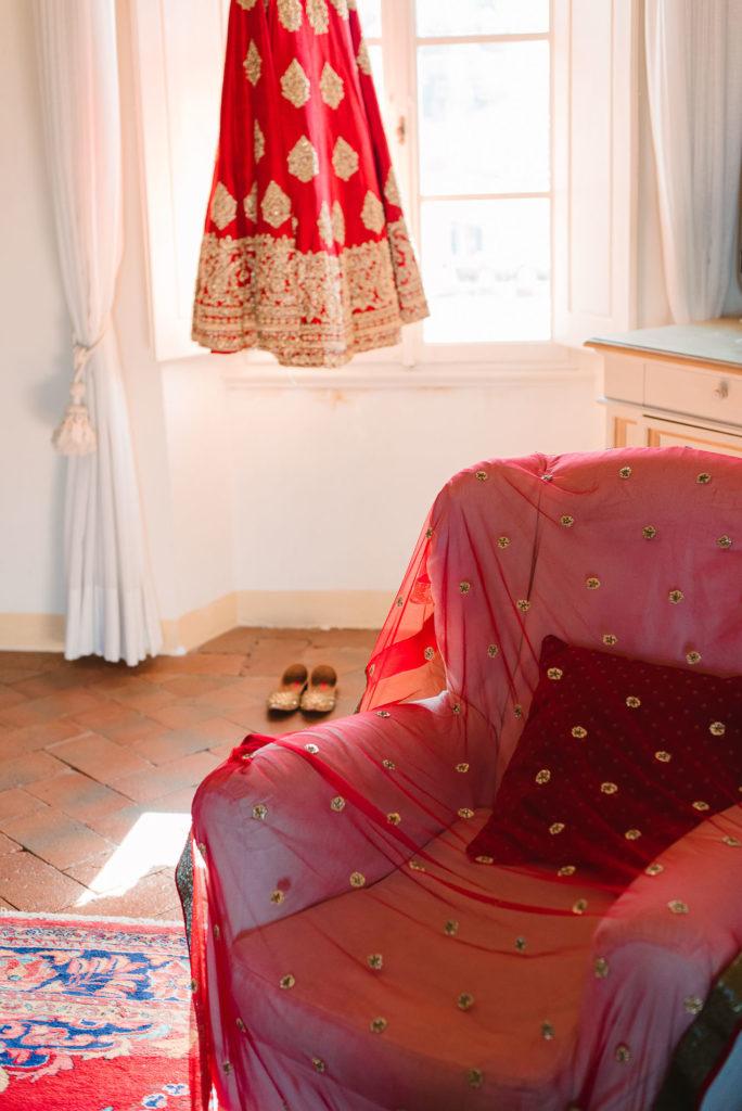 Bridal room - Indian Wedding in Tuscany - Italian Wedding Designer