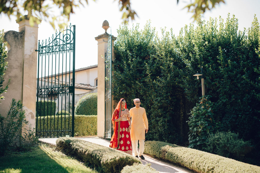 Sikh Bride in Tuscany - Indian Wedding in Tuscany - Italian Wedding Designer