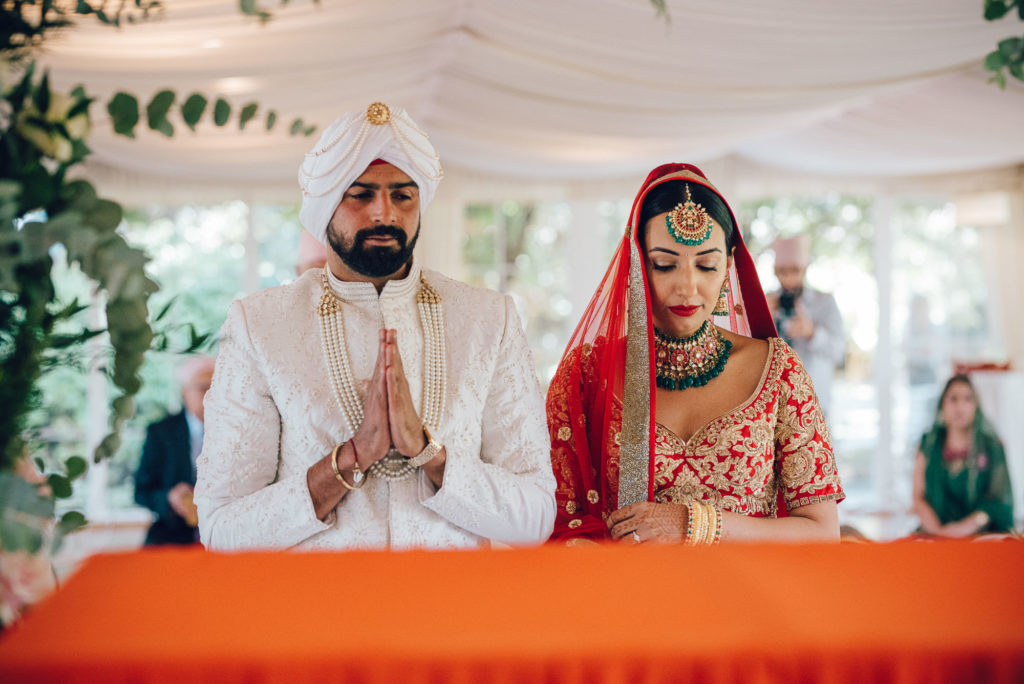 Indoor Sikh Ceremony in Florence - Indian Wedding in Tuscany - Italian Wedding Designer