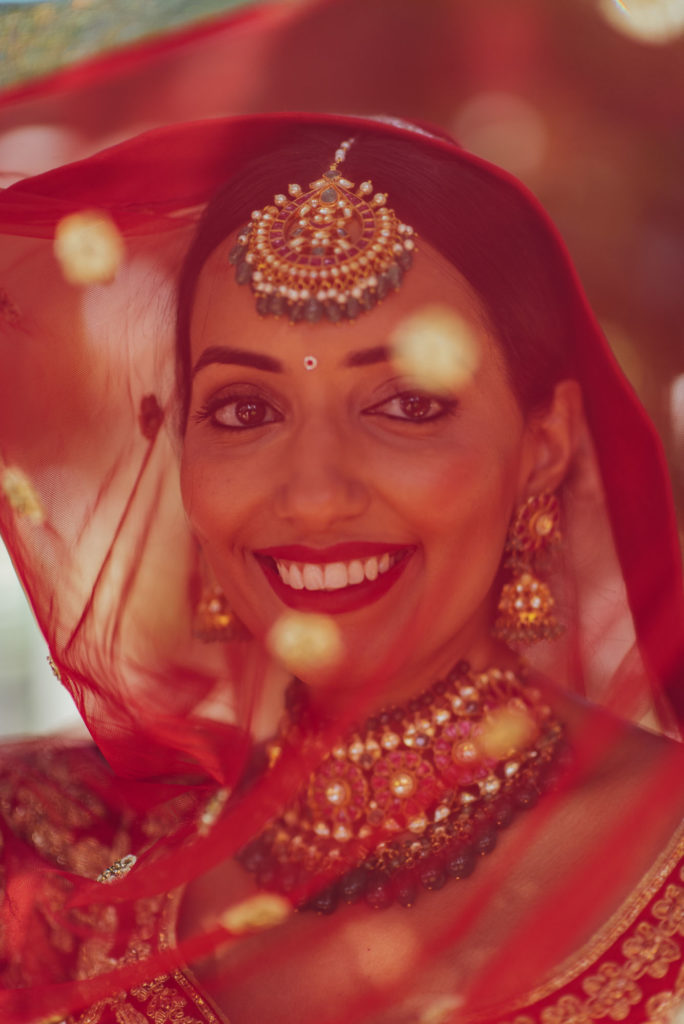 Indian Bride Portraits Sikh ceremony Priest in Italy by Italian Wedding Designer