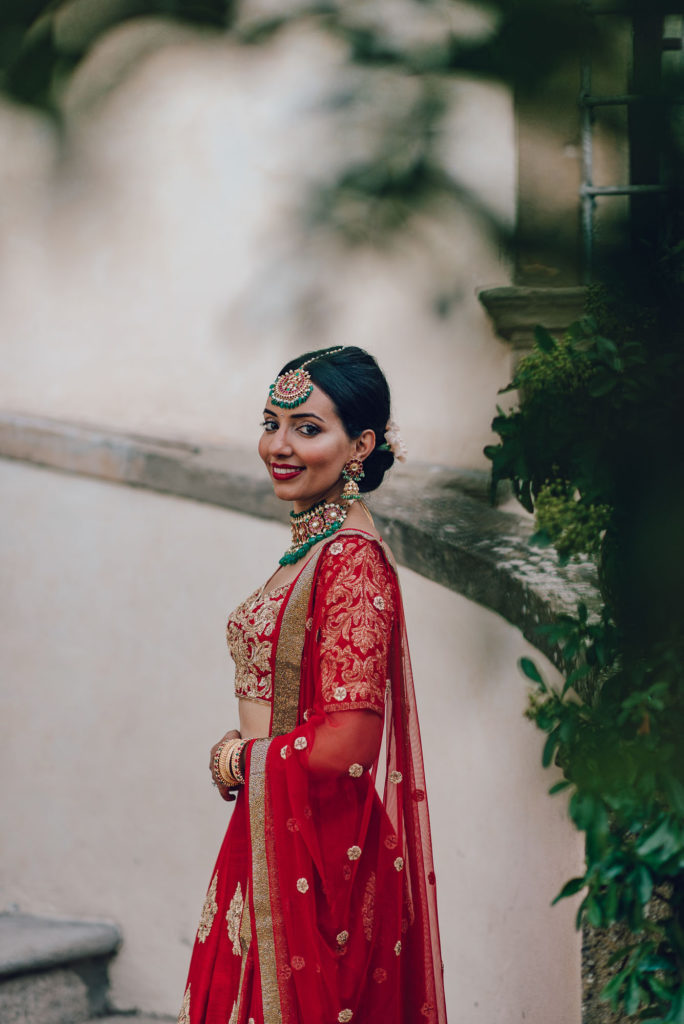 Bride photo by Lovefolio Sikh ceremony Priest in Italy by Italian Wedding Designer
