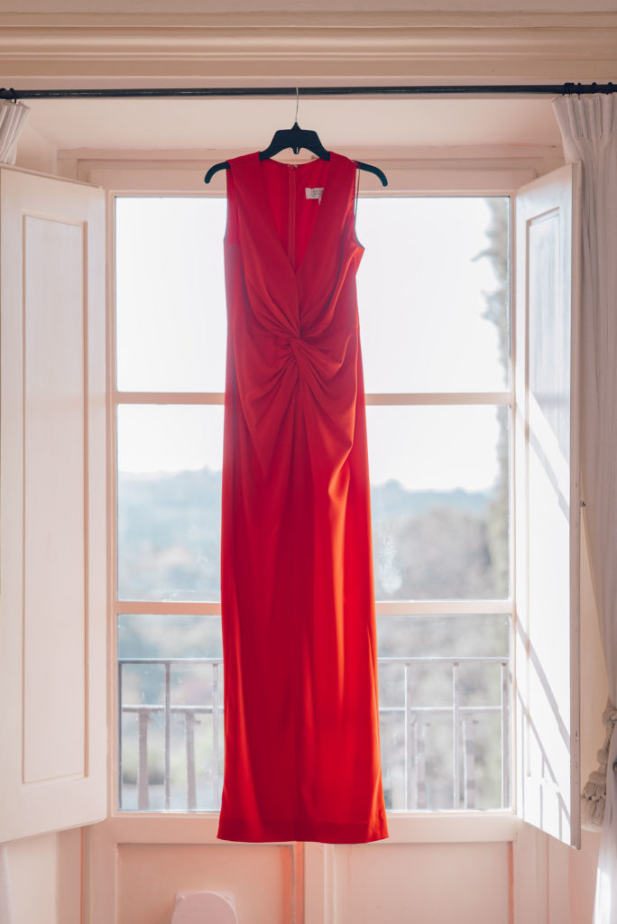 Second Red Wedding Dress