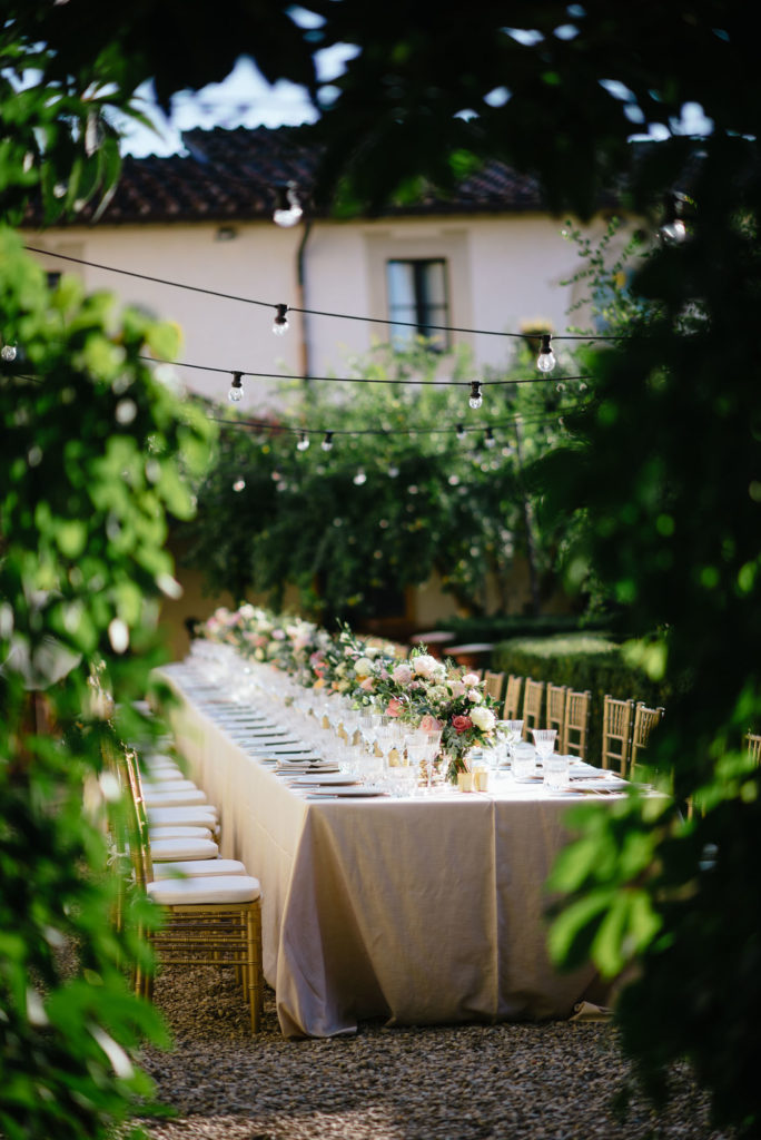 Wedding Table Sikh ceremony Priest in Italy by Italian Wedding Designer