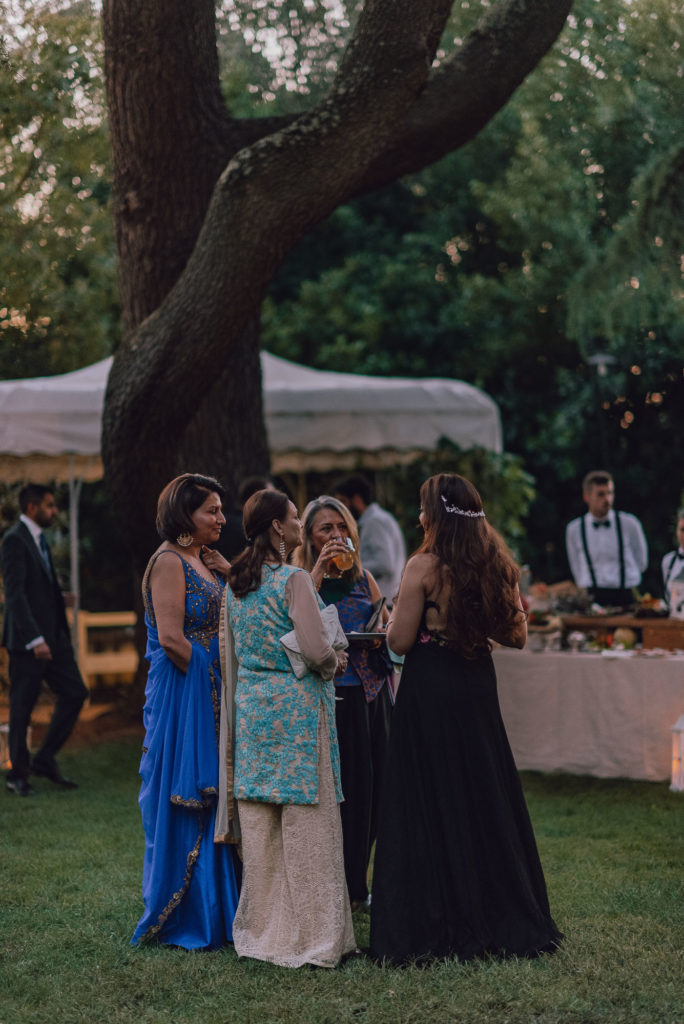 Aperitivo Sikh ceremony Priest in Italy by Italian Wedding Designer