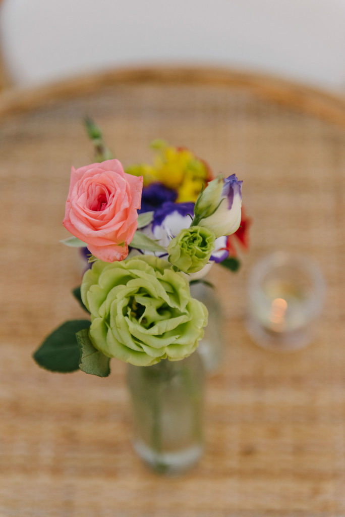 Welcome dinner flowers - Indian Wedding in Tuscany - Italian Wedding Designer