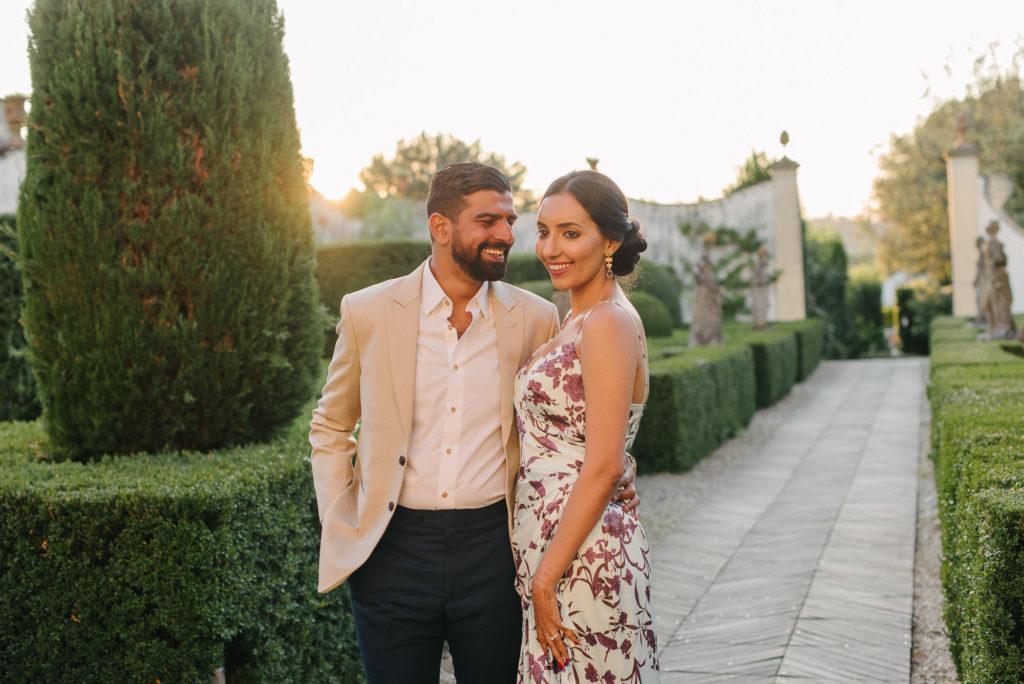 Bride and Groom to be - Indian Wedding in Tuscany - Italian Wedding Designer