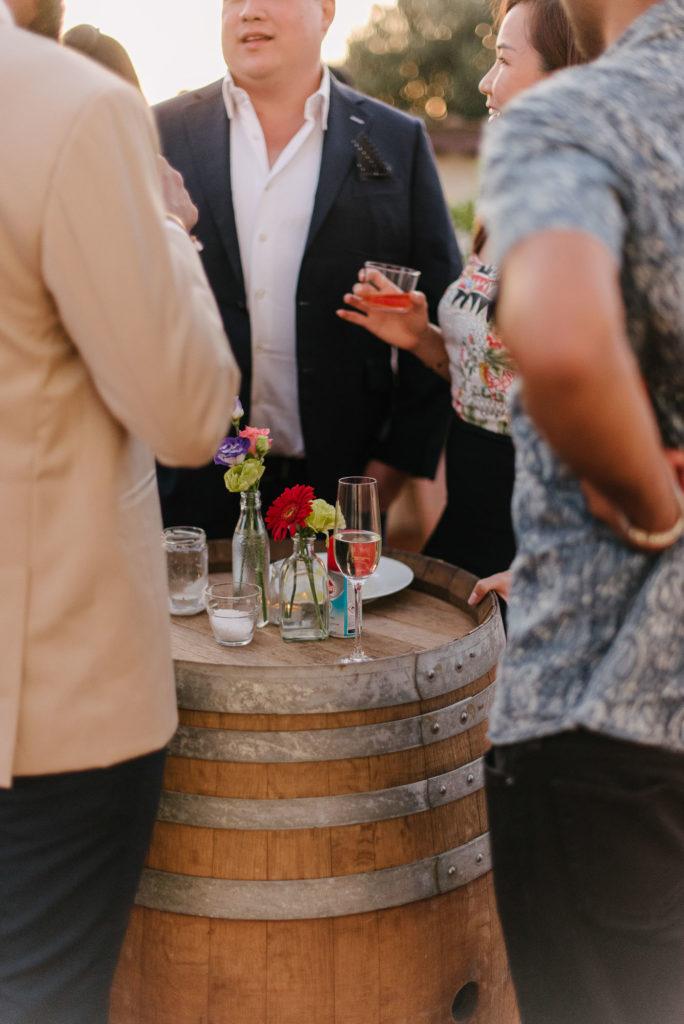 Welcome dinner by Zenzero Bio Catering - Indian Wedding in Tuscany - Italian Wedding Designer