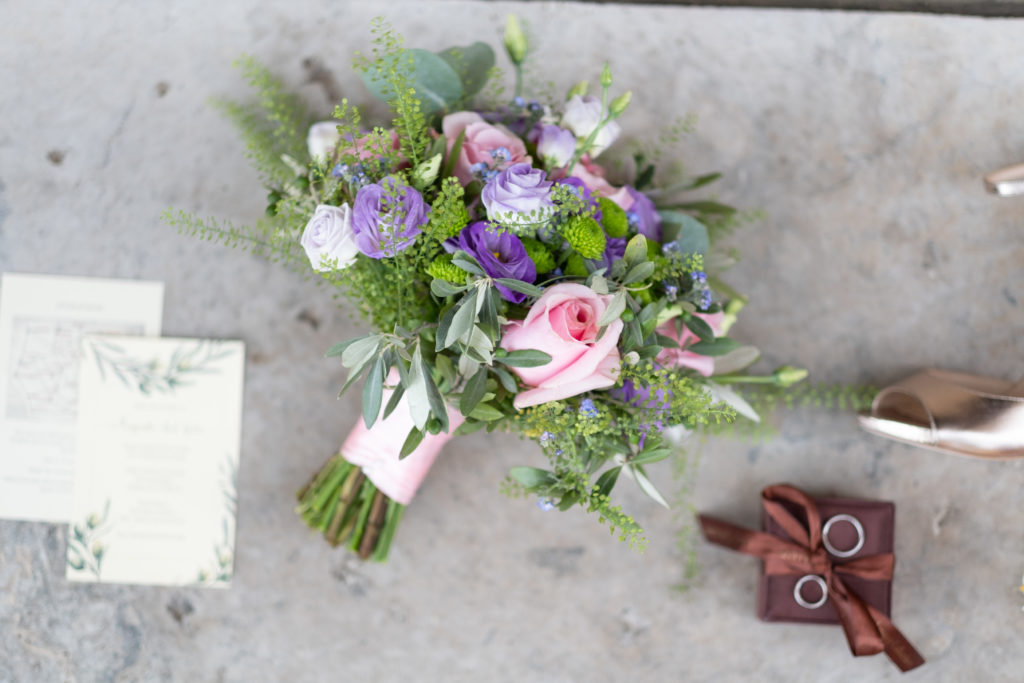 Bridal Bouquet by Flowers Living - Wedding at Borgo Petrognano - Italian Wedding Designer
