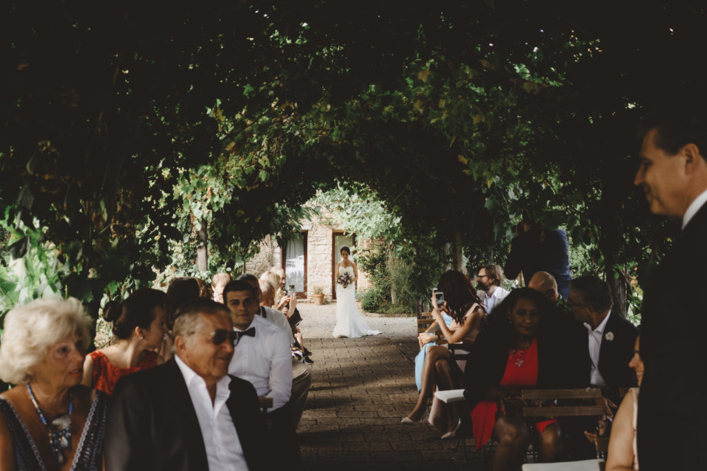 Bridal Entrance - Wedding at Borgo Petrognano - Italian Wedding Designer