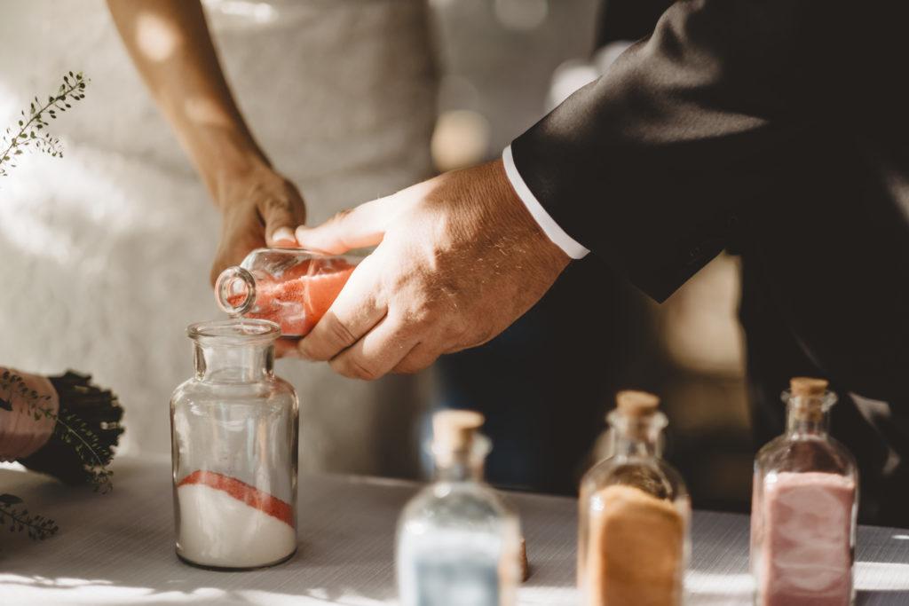 Sands Ceremony - Wedding at Borgo Petrognano - Italian Wedding Designer