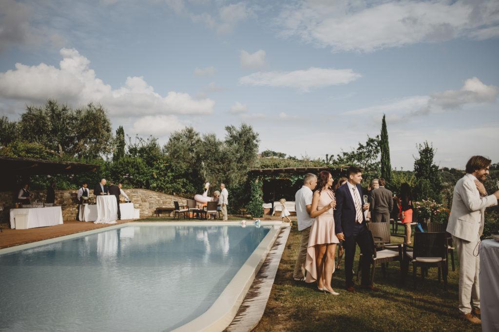 Cocktail at Petrognano - Wedding at Borgo Petrognano - Italian Wedding Designer