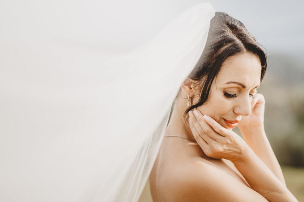 Bride Portrait by Bastianoni - Wedding at Borgo Petrognano - Italian Wedding Designer