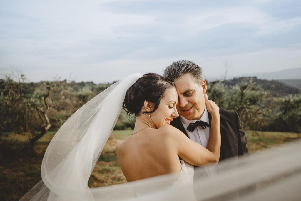 Newlyweds Portrait - Wedding at Borgo Petrognano - Italian Wedding Designer