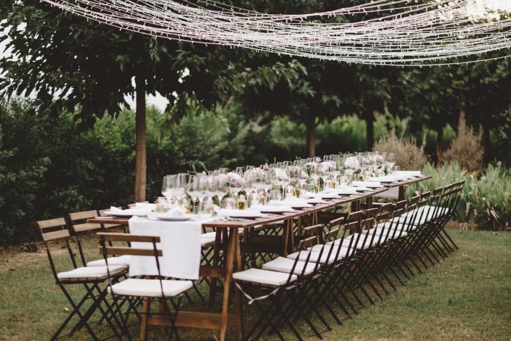 Table setting - Wedding at Borgo Petrognano - Italian Wedding Designer