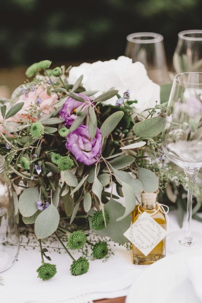 Guests Present Olive Oil Bottle - Wedding at Borgo Petrognano - Italian Wedding Designer