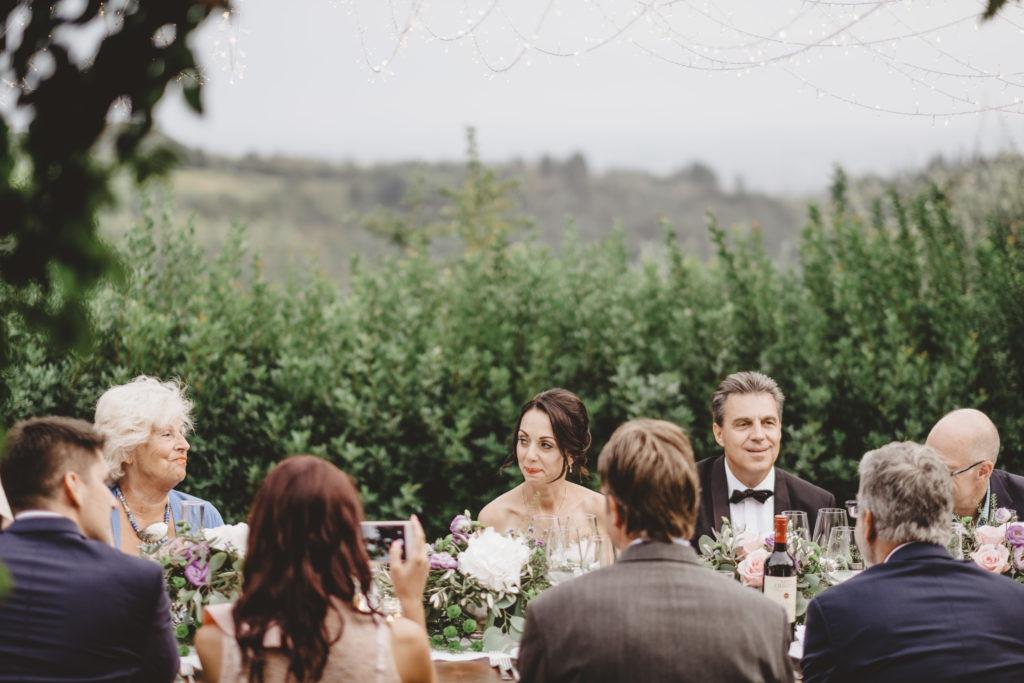 Dinner at Petrognano - Wedding at Borgo Petrognano - Italian Wedding Designer