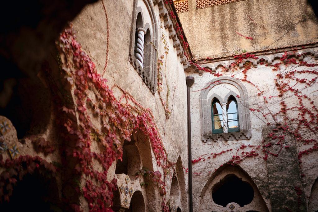 Villa Cimbrone Courtyard - Wedding at Villa Cimbrone - Italian Wedding Designer