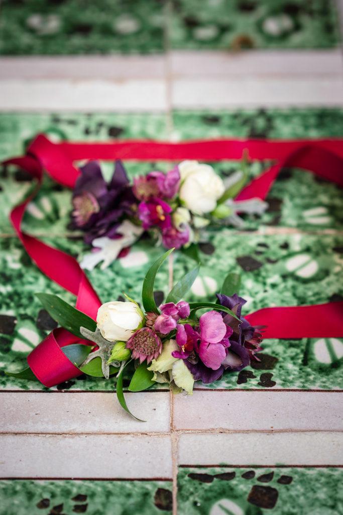 Corsages - Wedding at Villa Cimbrone - Italian Wedding Designer